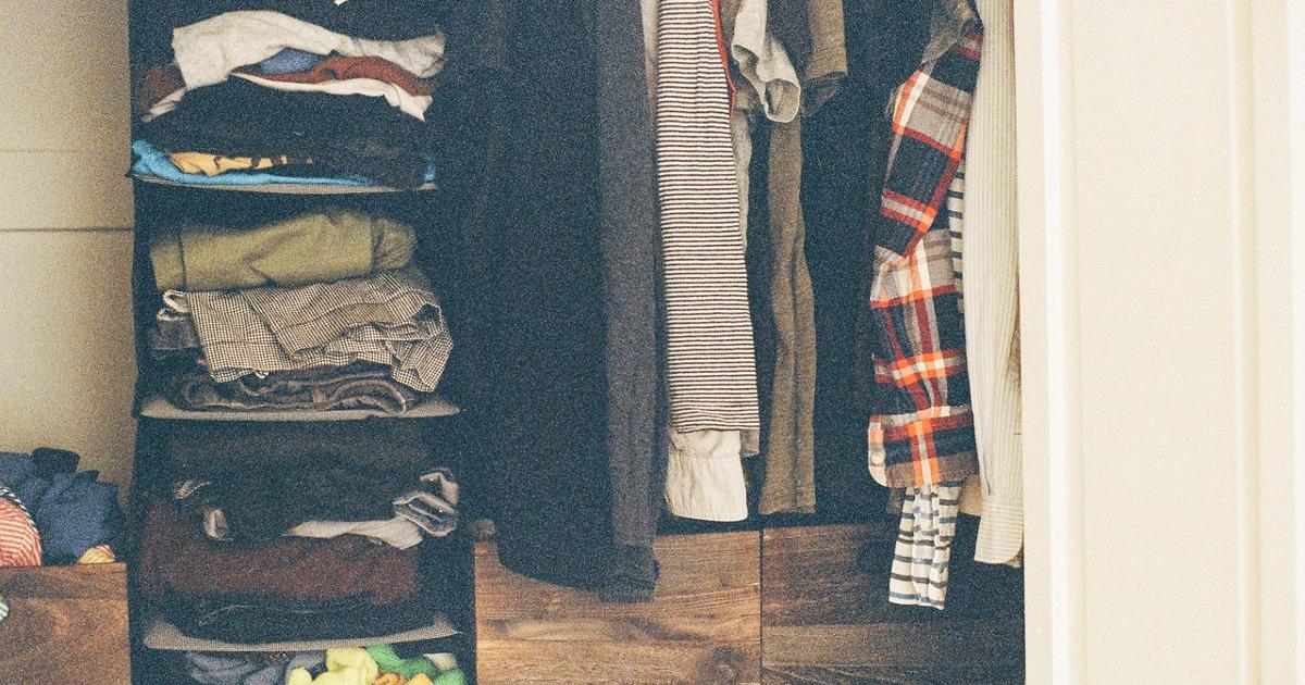 モテたい、おしゃれになりたいなら服を持ち過ぎてはいけない